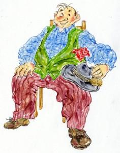 Der Grantler Alfons Kneidlbeck